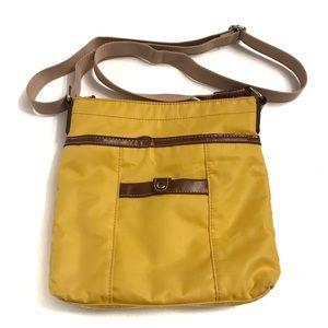 Nine West yellow cross body bag